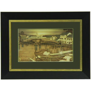 Old Singapore River 1900 Frame-02