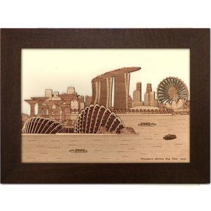 Singapor Marina Bay View Frame-01