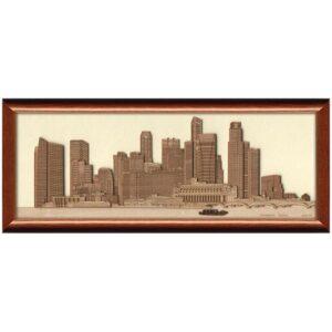 Singapore Skyline Frame-01