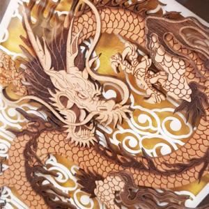CA0008-64 Prosperity Dragon (Closeup)
