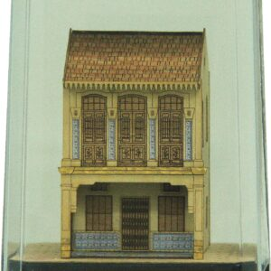 SG0040-HS217 - Singapore Shophouse 3D Miniature